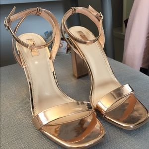 Chrome High Heels